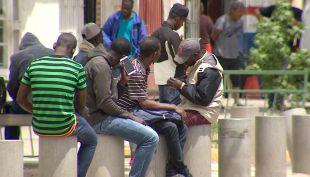 [VIDEO] Los haitianos que quedaron abandonados en Chile