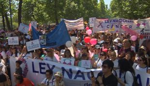 [VIDEO] Marcha nacional por ley del Cáncer