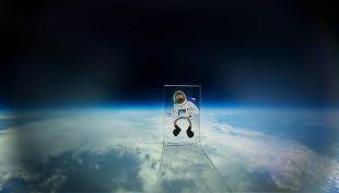 [VIDEO] Crononauta, el primer dibujo animado chileno en ir al espacio (de verdad)