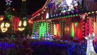 [VIDEO] La Florida casi se queda sin su casa navideña
