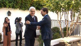 [VIDEO] Piñera se reúne con empresarios