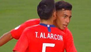[VIDEO] Lucas Alarcón empata para Chile ante Bolivia