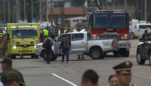 [VIDEO] 10 muertos por auto bomba en Bogotá