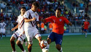 [VIDEO] Jorge Yriarte sorprende a Chile en el Sudamericano Sub 20