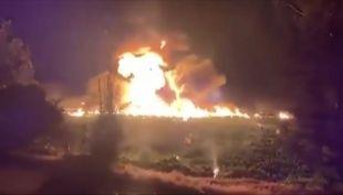 [VIDEO] Explosión de ducto de gasolina enluta a México