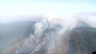 [VIDEO] Incendio de Nacimiento ha destruido 2.500 hectáreas en 48 horas
