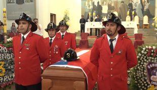 [VIDEO] Bombero mártir dona sus órganos: dos niños podrán ser trasplantados