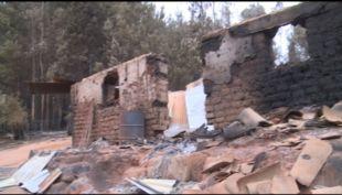 [VIDEO] 42 casas destruidas por incendios en Nacimiento