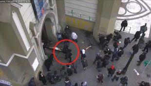 [VIDEO] Autor de ataque a Cristo de la Iglesia de la Gratitud Nacional intentó huir del país
