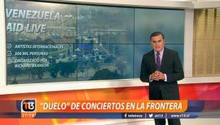 [VIDEO] Ramón Ulloa explica cómo se vivió el duelo de conciertos en la frontera