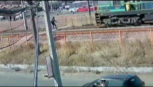 [VIDEO] Escolar fue atropellado por un tren en San Pedro de la Paz
