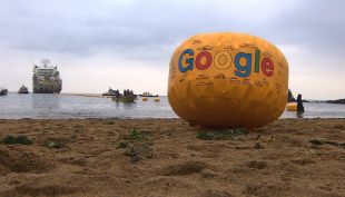 [VIDEO] Google une Chile y Estados Unidos a través de un cable submarino