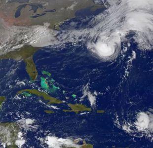 [VIDEO] Así se ve el huracán Gonzalo desde el espacio