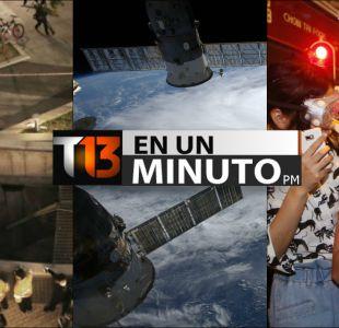 [VIDEO] #T13enunminuto: tragedia en concierto de pop en Corea y otras noticias