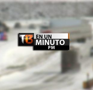 [VIDEO] #T13enunminuto: ola de frío afecta a Estados Unidos y otras noticias