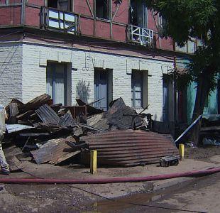 [T13] El día después del incendio en cité de Santiago