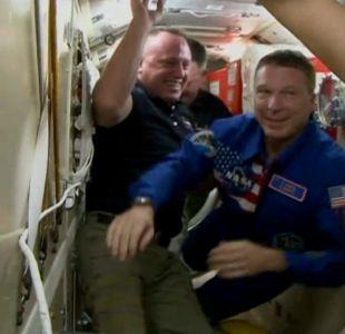 [VIDEO] Así fue la llegada de los tripulantes de Soyuz a la EEI