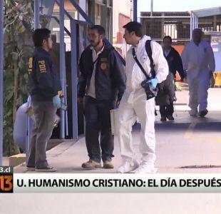 [T13] Los enfrentamientos entre vecinos y estudiantes de la UAHC a un día del ataque a la PDI