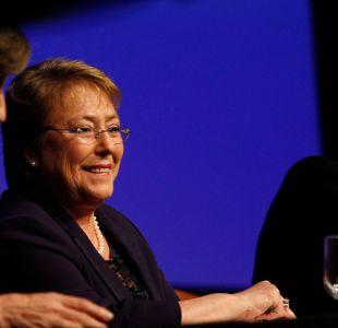 """Bachelet en Enade: """"La desaceleración no es producto de las reformas"""""""