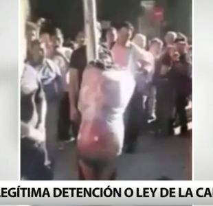 """[T13] Trabajador que inició polémica detención ciudadana: """"La gente iba con intención de matarlo"""""""