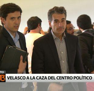 [T13] Andrés Velasco define su domicilio político y apunta al centro