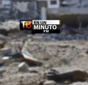 [VIDEO] #T13enunminuto: Estado Islámico pierde terreno y hombres en Kobane más otras noticias