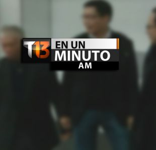 [VIDEO] #T13enunminuto: Líderes de grupo prodemocracia en Hong Kong se entregan a la policía y más