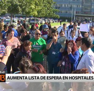 [T13] Pacientes reclaman por cierre de servicio en Hospital Padre Hurtado