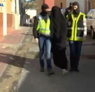 Tía de chilena detenida en España relata cómo fue la captura