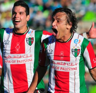 Palestino golea a S. Wanderers y clasifica a la Copa Libertadores