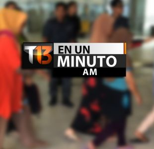 [VIDEO] #T13enunminuto: Malasia deporta a 500 trabajadores indocumentados y más noticias