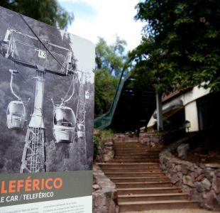 Teleférico de Santiago tendrá cabinas de color rojo, azul y verde