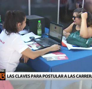 [T13] ¿Qué estudiar? Las claves para postular a una carrera en Chile