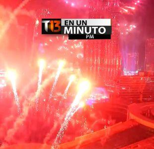 [VIDEO] #T13enunminuto: Así fueron las primeras celebraciones en el mundo por la llegada del 2015