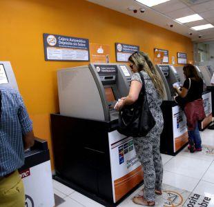 Cajeros automáticos: 16,5% sigue fuera de servicio, pese a que culminó el paro de Brinks