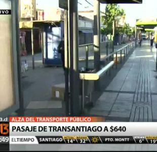 [T13 AM] Desde hoy rige alza de $ 20 en tarifa del Transantiago