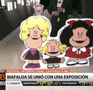 [T13 AM] Mafalda se une a festival Santiago a mil