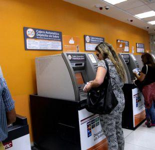 SBIF: 16,5% de los cajeros fuera de los bancos se encuentra sin servicio tras movilizaciones
