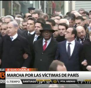 [T13 Tarde] Millones de personas marcharon por las víctimas de los atentados en París