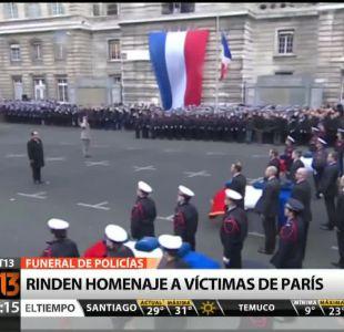 [T13 Tarde] Bloque Internacional: Rinden homenaje a víctimas de París y otras informaciones