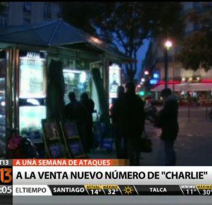 [T13 AM] Bloque internacional: A la venta nuevo número de Charlie Hebdo