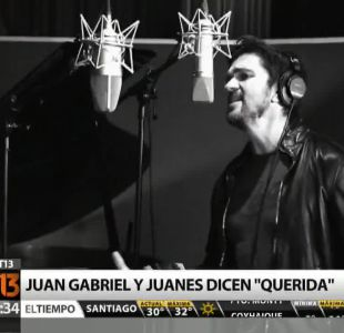 """[T13 Tarde] Juan Gabriel invita a Juanes a realizar nueva versión de """"Querida"""""""
