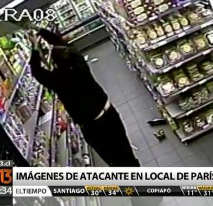 [T13 Tarde] Imágenes muestran al atacante del supermercado Kosher de París