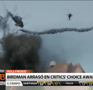 [T13 Tarde] Birdman arrasó con los Critics Choice Awards