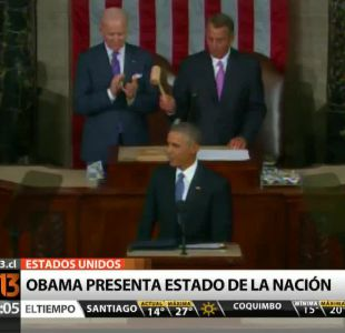 [T13 AM] Bloque internacional: Obama presenta estado de la nación y otras noticias