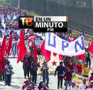 [VIDEO] #T13enunminuto: marcha en Iguala a 4 meses de desaparición de 43 estudiantes y más
