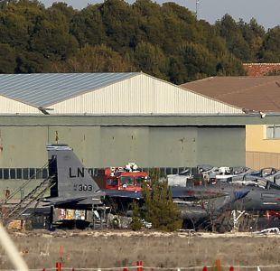 Francia confirma que F-16 estrellado en España tenía una avería