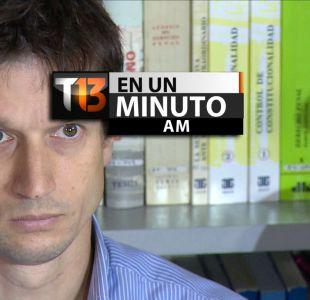 [VIDEO] #T13enunminuto: Único imputado por caso Nisman rompe el silencio y otras noticias