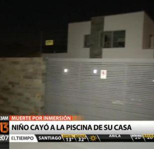 Niño de un año y 9 meses muere en San Felipe tras caer a piscina