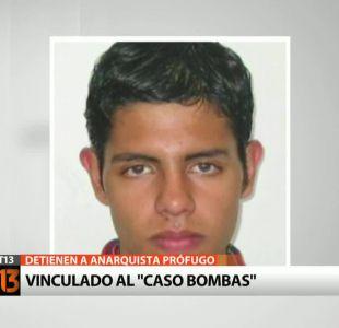 Caso Bombas: Detienen a anarquista cuando intentaba ingresar a Chile con pasaporte falso
